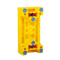 Степ PUZZLE STEP WITH BLUE SUCTION CAPS