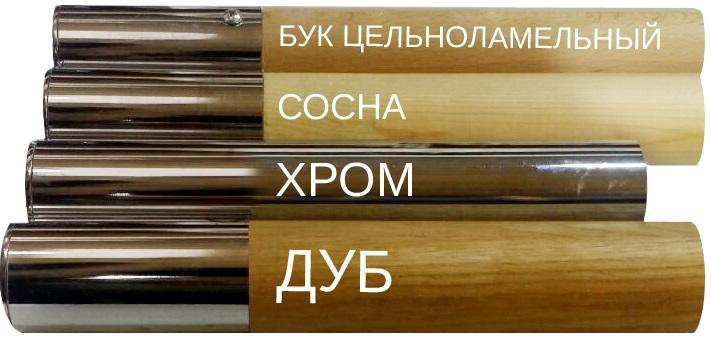 Материал жердей балетных станков