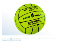 Мяч для водного поло Mad Wave Water Polo Ball Official size Weight №5 M0781 02 0 10W